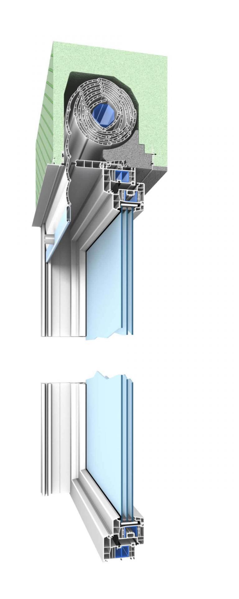Rideau Caisson Volet Roulant volets roulants haut de gamme conçus sur mesure fe 10-ra