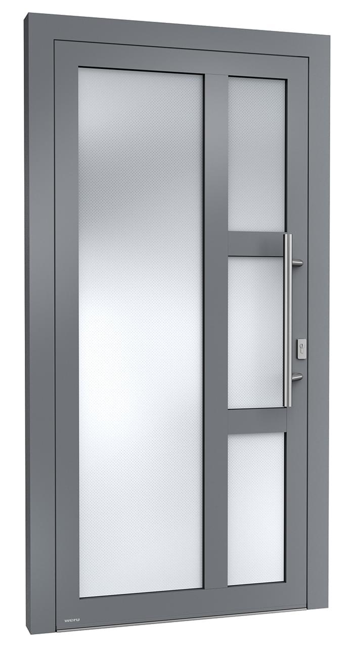 hochwertige maßgefertigte aluminiumtüren sedor | weru gmbh